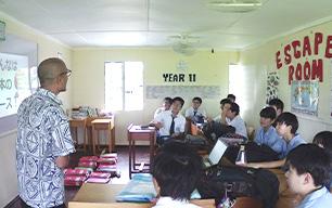 留学生向け英語クラス(ESL)