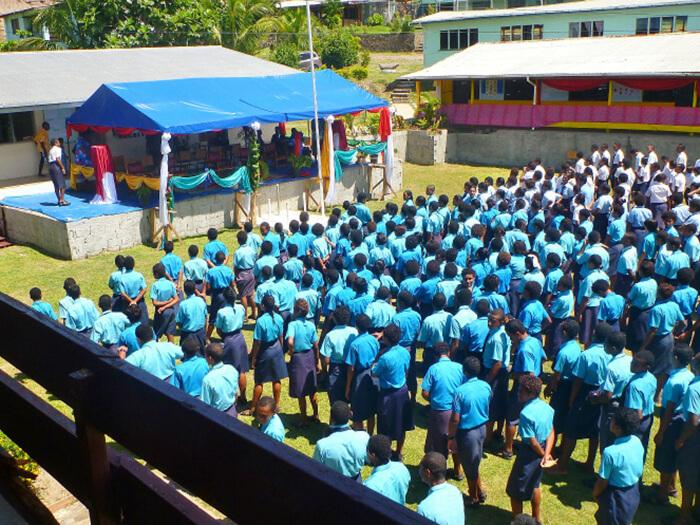 Physics Laboratory Opening Ceremony