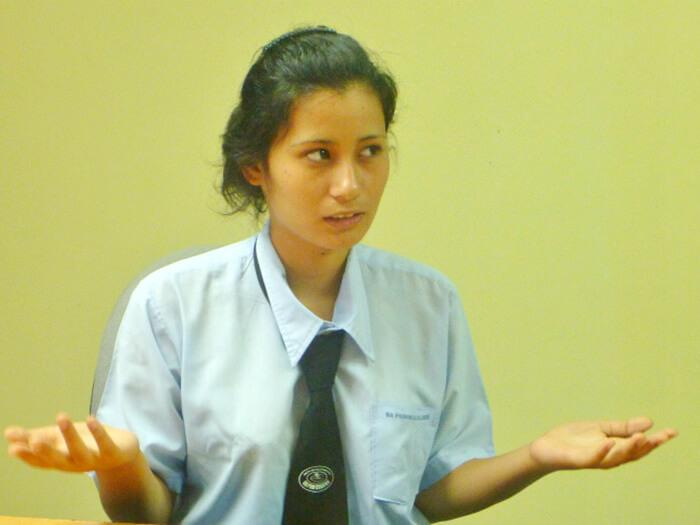 学生インタビュー vol.1  – Anju –