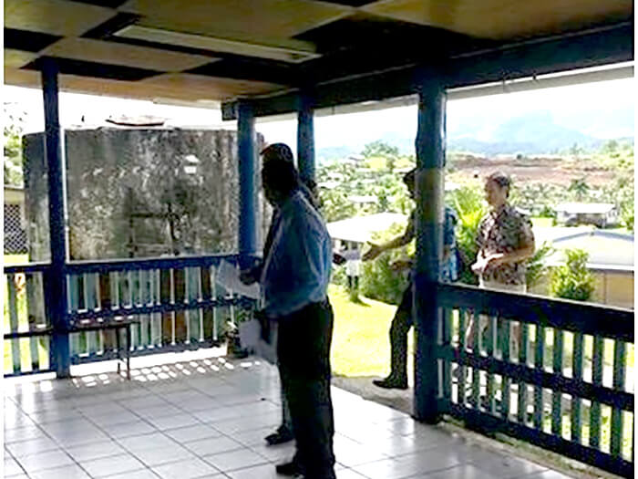 The opening of two new classroom block