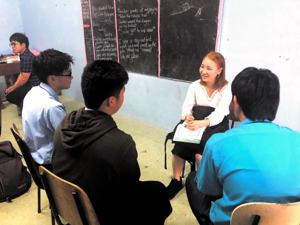 【Ba Pro/Jasper】語学学校に通う学生を呼んで「語り場」を開催!